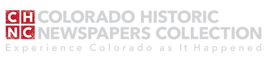 Access Colorado Historic Newspapers Collection from the Colorado State Library