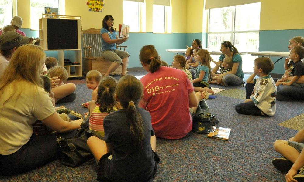 Rifle Branch Storytime