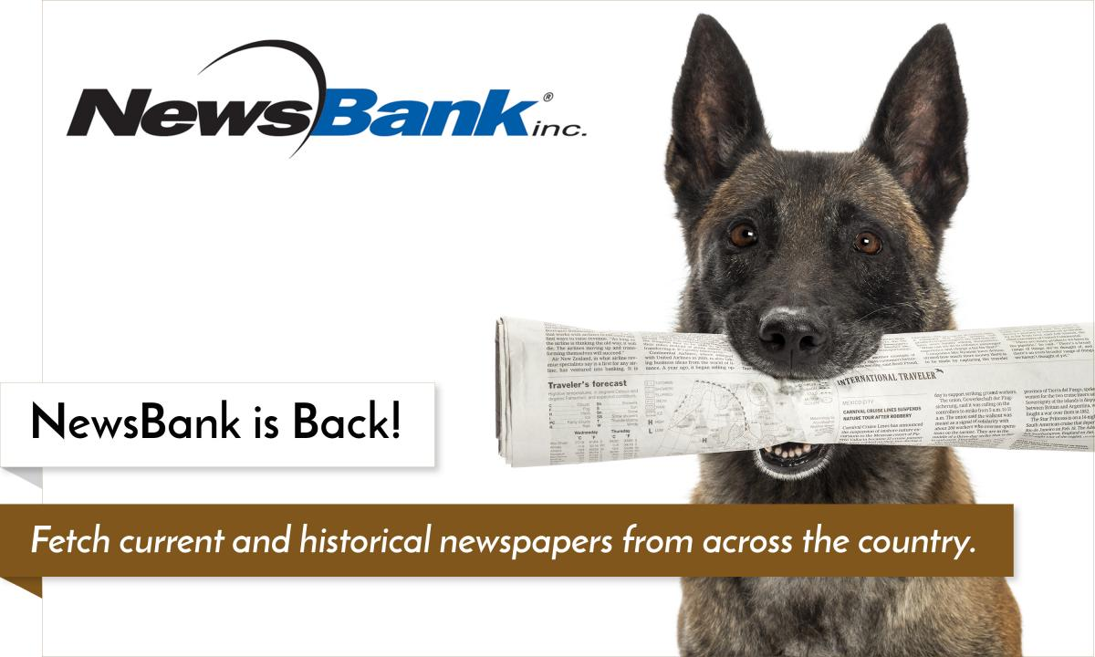 NewsBank is Back