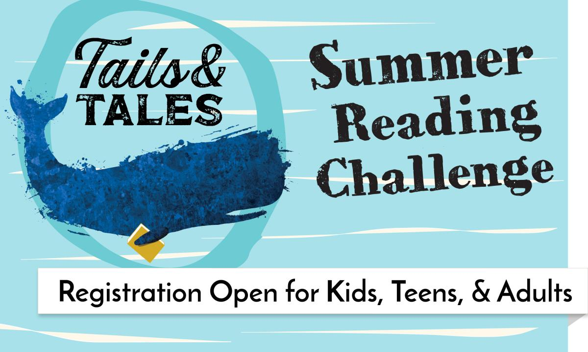 Sign up for the Summer Reading Challenge!