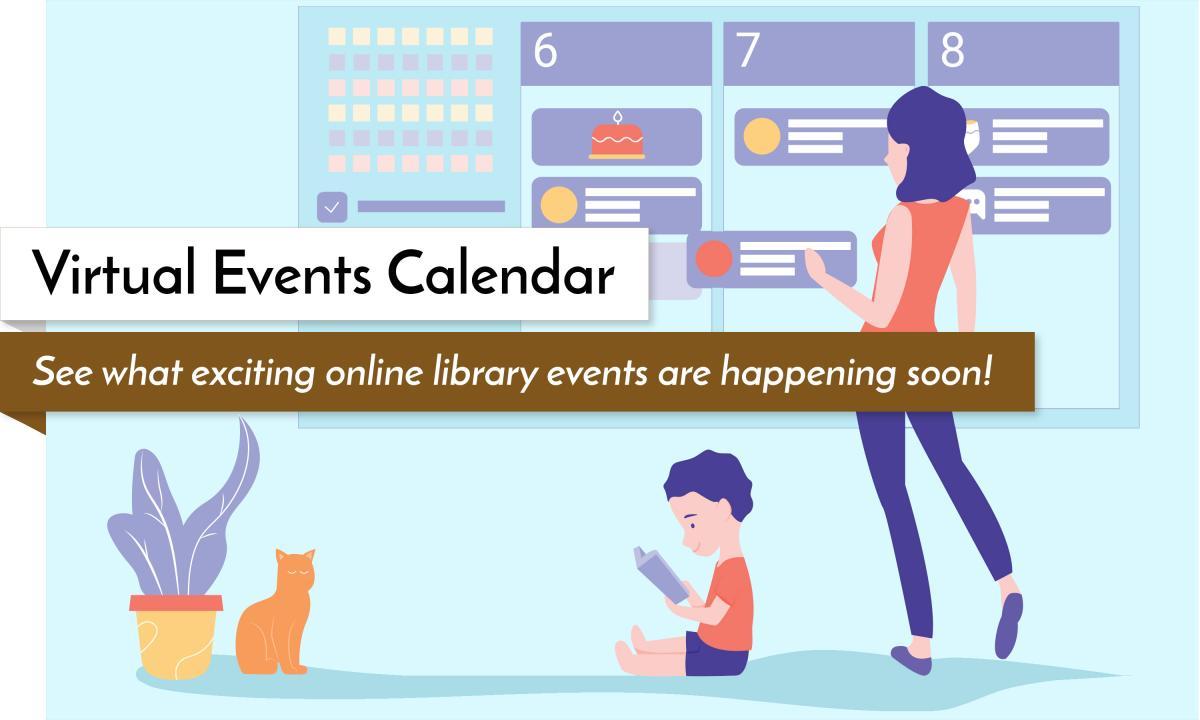 Virtual Events Calendar